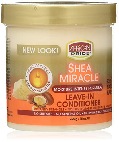 AFRiCAN PRIDE SHEA MIRACLE LEAVE IN CONDITIONER 15oz